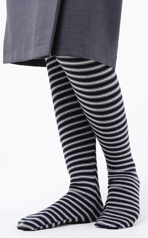 Stripe Navy-Grey