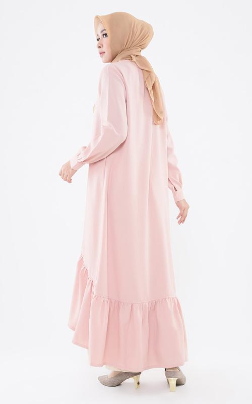 Gamis - Freesia Dress - Cream