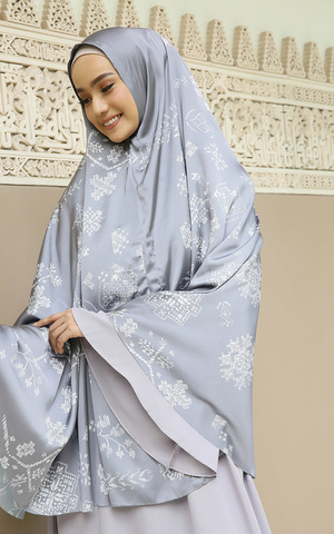 Khimar Ethera Dark Grey for HIJUP
