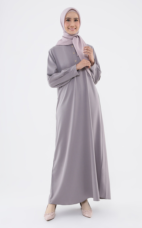 Gamis - Safina Dress - Grey