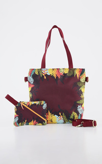 Marsala Tropical Slingbag Set