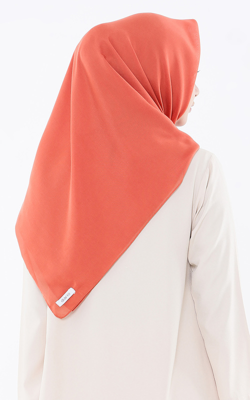 Hijab Polos - Plain Scarf for HIJUP 1 - Ginger Spice