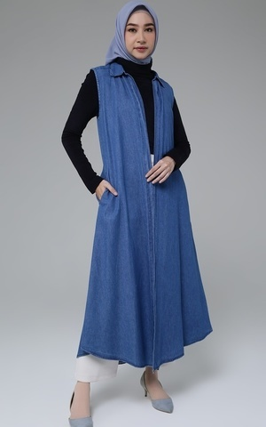 Long Outer Denim Sleeves