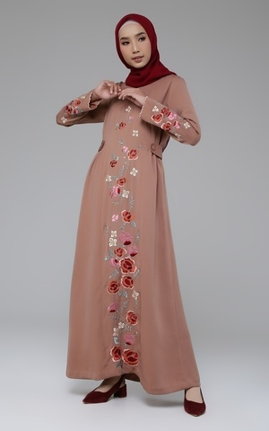 Luna Embroidered Abaya