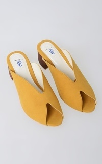 Shoes BR 104 Mustard