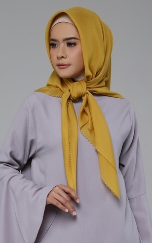 Plain Scarf LC for HIJUP