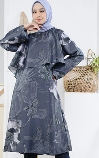 Tunic Poppies Tunic  Navy for HIJUP