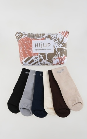 Plain Wudhu Socks Set All Color Set