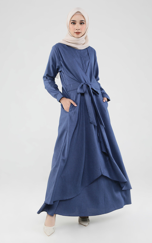 Gamis - Nala Dress - Navy