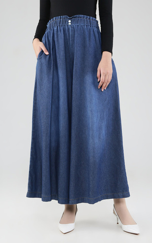 Pallazo Skirt Denim