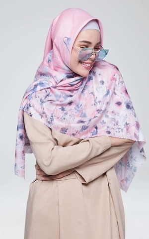 New Kasih Scarf Dusty Pink