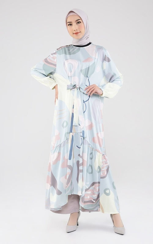 Tunic - New Marizta Dress - Baby Blue