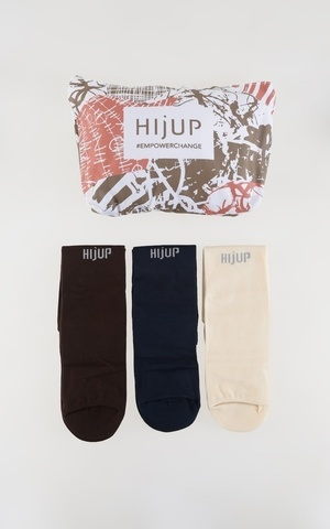 Plain Wudhu Socks Set