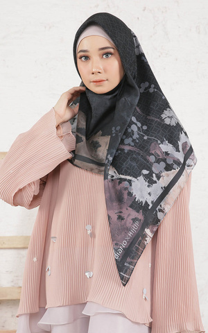 Callia Black Scarf Voal for HIJUP