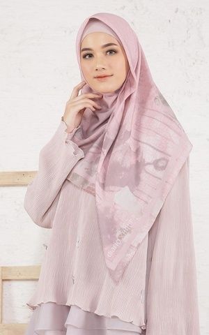 Callia Pink Scarf Voal for HIJUP