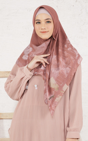 Callia Terracotta Scarf Voal for HIJUP