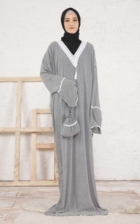Praying Set Houndstooth Mukena for HIJUP