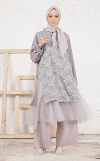 Tunic New Lui Top Brocade for HIJUP