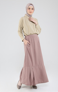 Laiqa Daily Office Straight Pleated Skirt