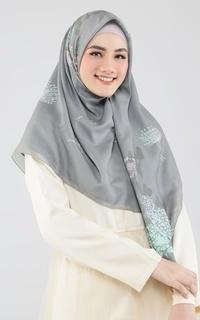 Hijab Motif Visca Artichoke Olive