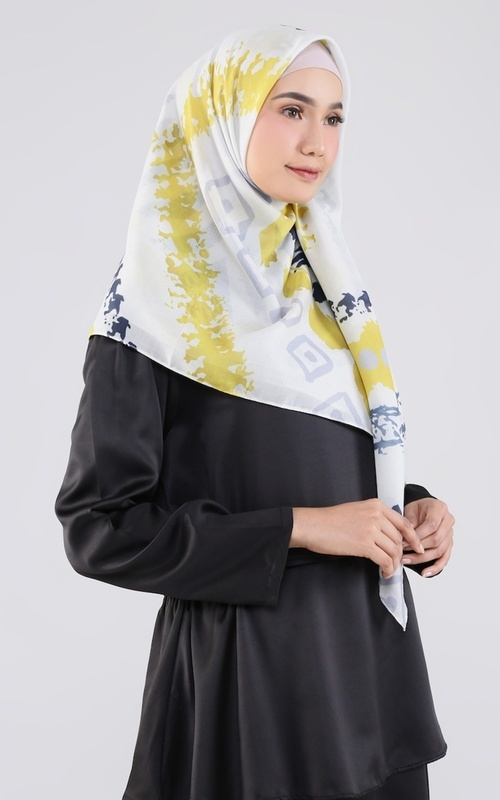 Printed Scarf - Bohemian Series 01 - Yellow