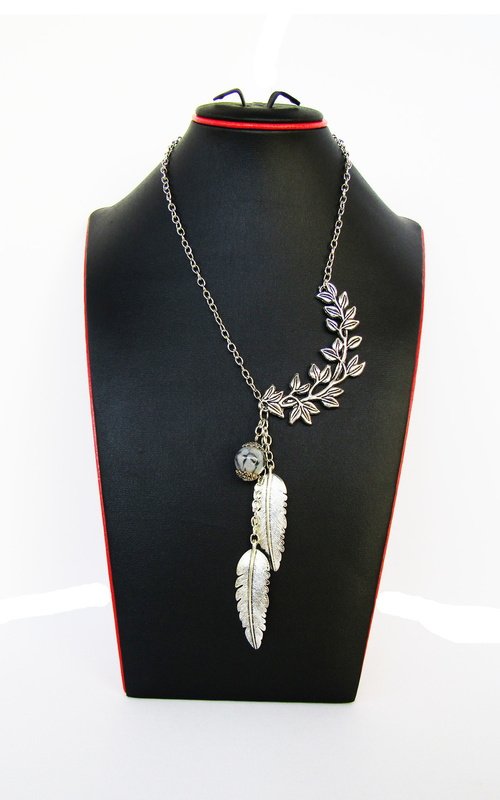 Jewelry - Kalung Etnik - the leaves   - Silver