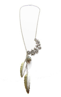 Jewelry Kalung Etnik - the leaves