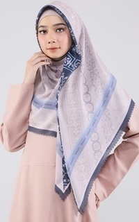 Printed Scarf New Two Tone Series Hawwa