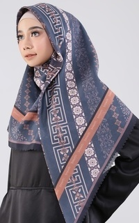 Printed Scarf New Two Tone Series Khadija