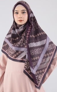 Printed Scarf New Two Tone Series Sarah