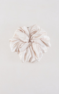 Ikat Rambut Nude Voluminous Tulle Scrunchie (Tulle Scrunchie Series)