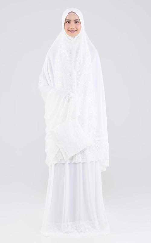 Praying Set - New Mkena ZS 09 White - White