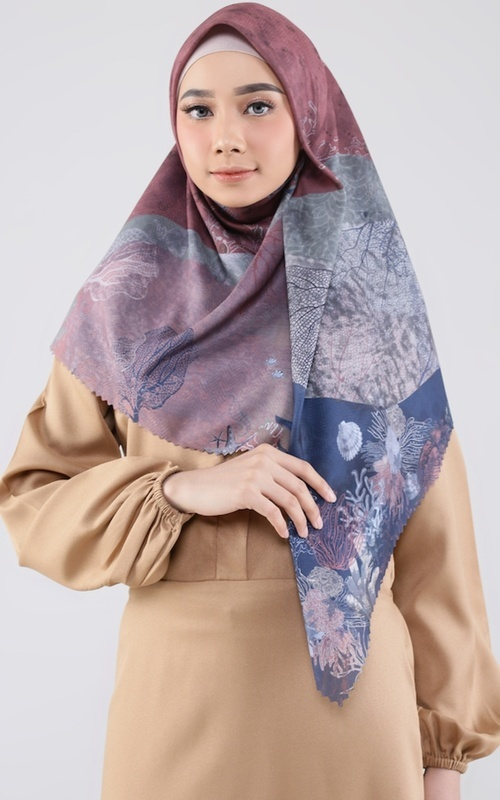 Printed Scarf - Cordelia Scarf for HIJUP - Multicolor