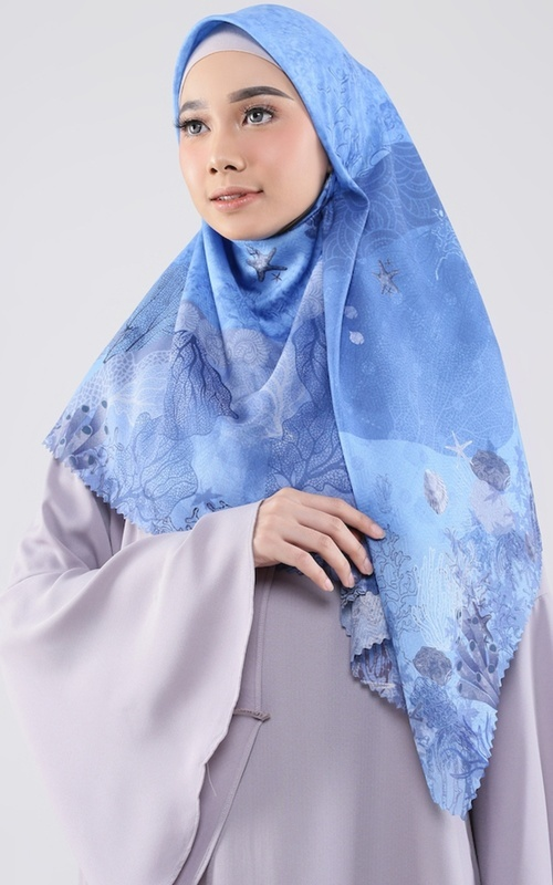 Printed Scarf - Moana Scarf for HIJUP - Multicolor