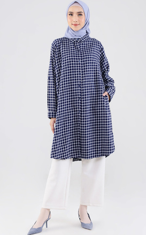 Tunik Checkered Kimmy