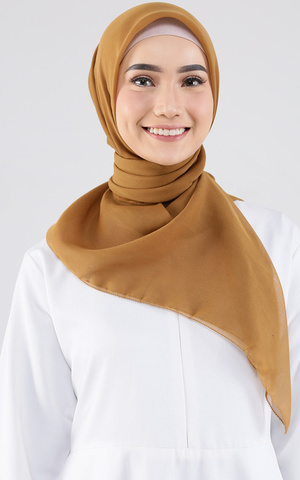 Everyday Scarf - Russet Brown