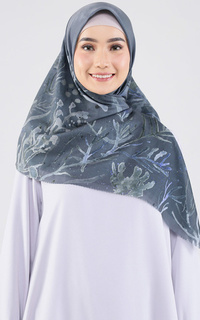 Printed Scarf Twilight Square 2.0 Voal - Forest