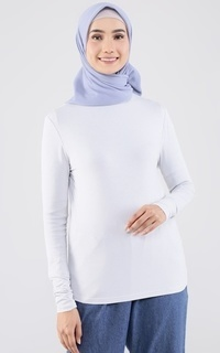 Inner Shirt Everyday High Neck Inner Light Grey