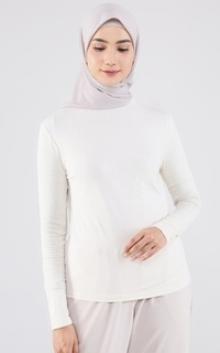 Inner Shirt Everyday High Neck Inner Ivory