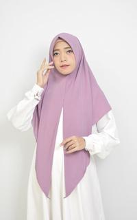 Square Instan Hijab Grape