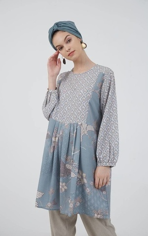 Besyana Tunic Blue