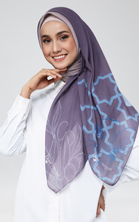 Hijab Motif DOVE X HIJUP Collaboration Package in Purple