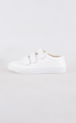 Key Velcro Shoes White