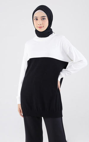 Alesha Sweater Twotone