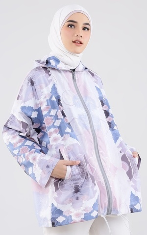 Comfy Jacket Water Repellent - Sand Blue