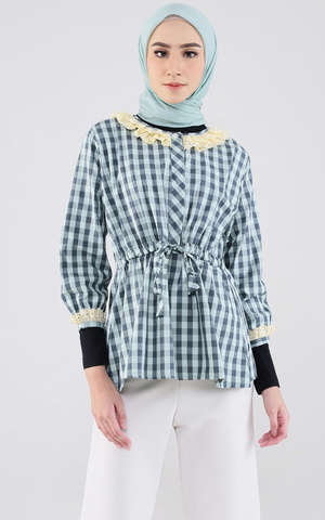 Lulu Top (Checkered)
