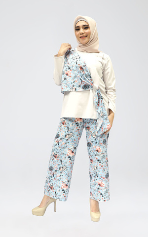 Randa by Aisaa - Long Pants Full Printed