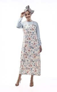 Gamis Seroja by Aisaa - Long Dress Two Layer