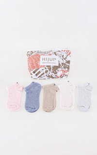 Kaos Kaki Pastel Ankle Socks All Color Set