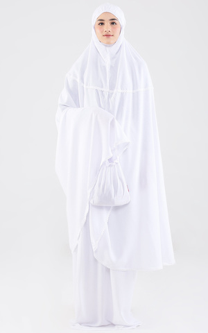 Shiva 120 Alaca Prayer Maxi White